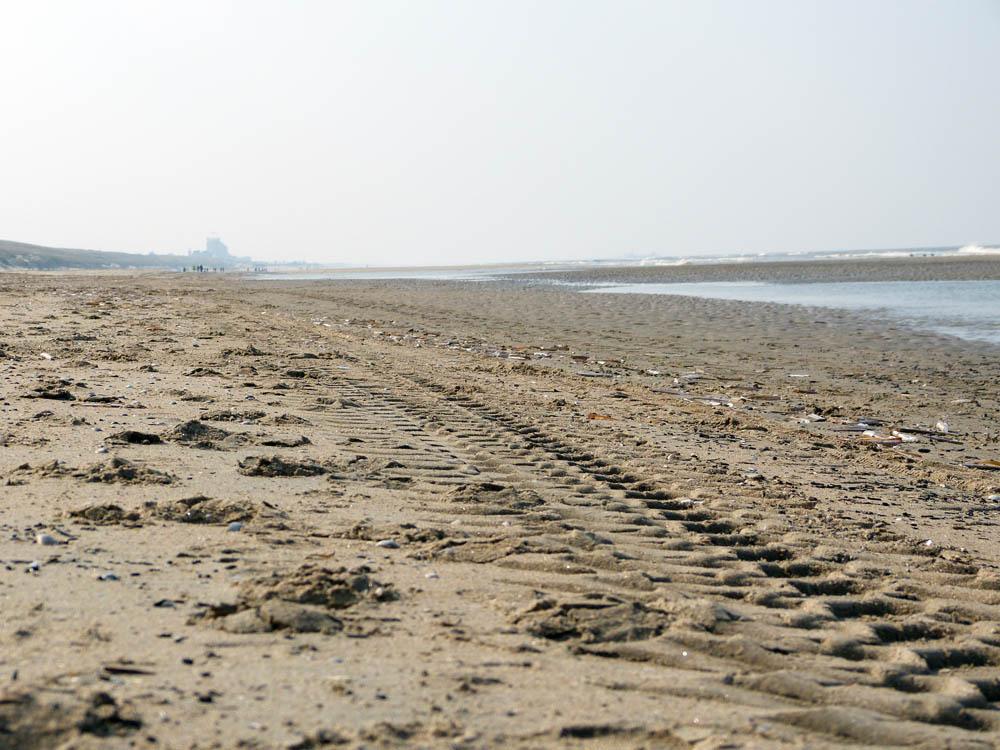 strand ansichtkaarten dikke